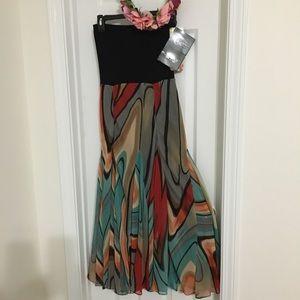 Lapis Skirts - Lapis Convertible Maxi Skirt/Midi Dress